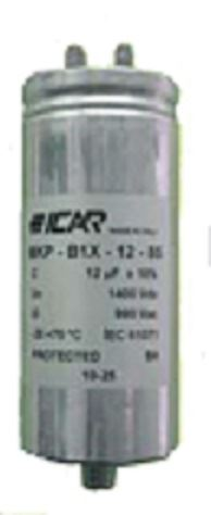 Picture for category Urms: 850V __ UN: 1200V __ Single Phase AC filter capacitors