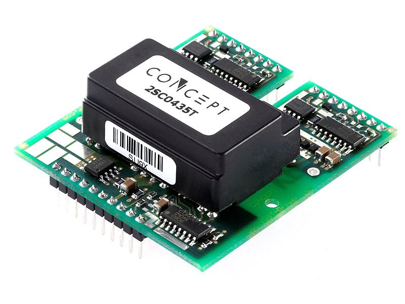 Picture for category Dual Channel Low-Cost SCALE-2 IGBT and MOSFET Driver Core