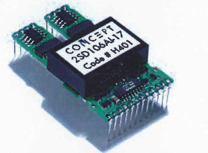 Picture for category Dual SCALE Driver for 1600 V/1700 V IGBTs