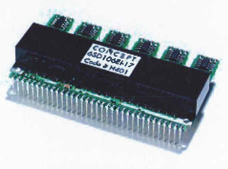 Picture for category Six-Pack SCALE Driver for IGBTs and Power MOSFETs